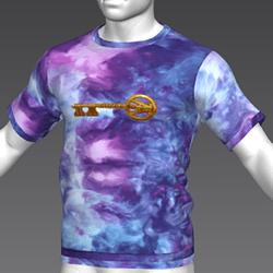 Ready Player One: Copper Key T-Shirt (Tiedye) (M)