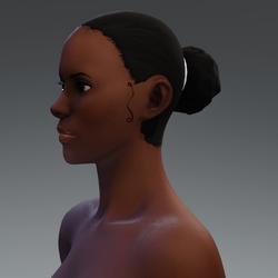 Afro Hair Puff 3