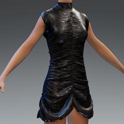 Ruffle Party Dress Andoid V6