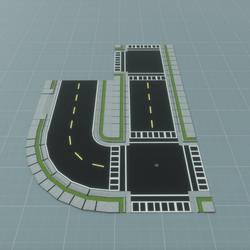 TKA-Set Road Lane V2
