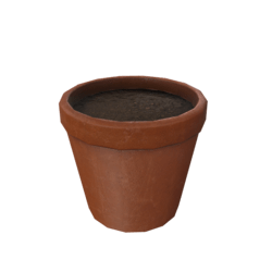 Flower Pot - Terracotta