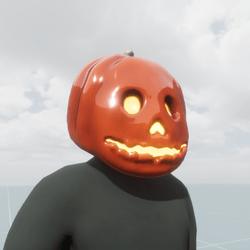 Pumpkinish Head Male Clothing