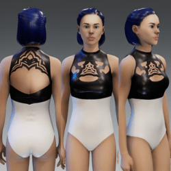 2B Nier Automata Inspired Swimsuit