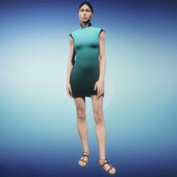 Cosmic Goddess Dress
