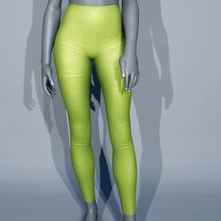 Leggings - Green Lime