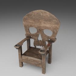Chair Skull