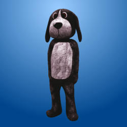 Black Dog Costume