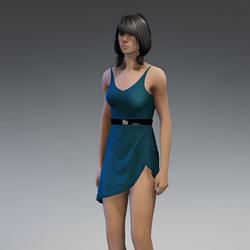 Dress Lara 2.0 green