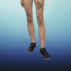 Running Shoes Female - black