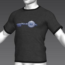 Ready Player One: Crystal Key T-Shirt (Grey) (M)
