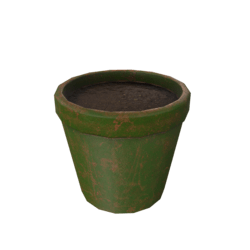 Flower Pot - Green