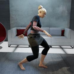 Pee Wee Herman Dance (Female)