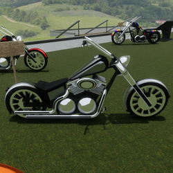 Grey Bike Attachment