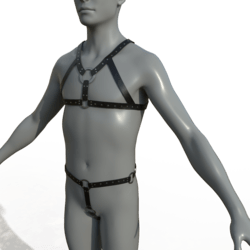 Male Body Harness