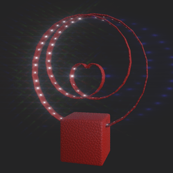 V-day light animated