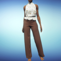 Stella Outfit - Brown