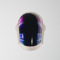 Daft-Pank Helmet Guy-Manuel (white)