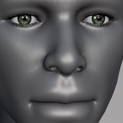 Men Eyes - Green