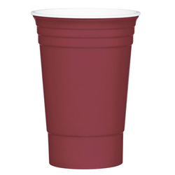 Dark Red Party Cup
