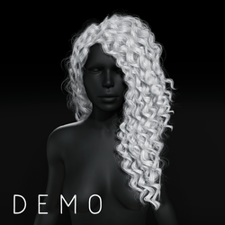 Sandra - Long Curly Hair - Demo