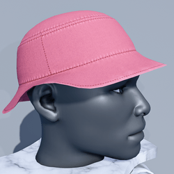 Men Bucket Sun Hat - Rapture Rose