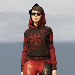 Pullover Hoodie | FLOWERS | Female