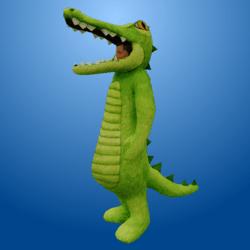 Croc Costume LightGreen (Male)