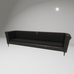 skull button couch