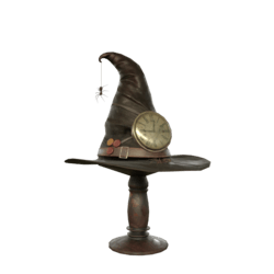 Witch steampunk hat