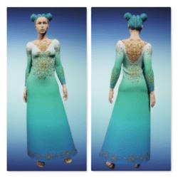 Gloriana - Green Blue
