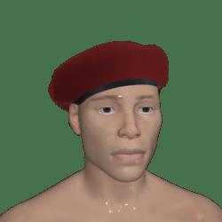Standard Red Beret Hat