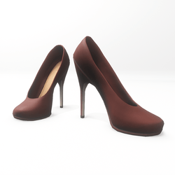 """High heel pumps for """"Alina Daisy highheels"""" and """"Nicci"""" avatar - brown"""