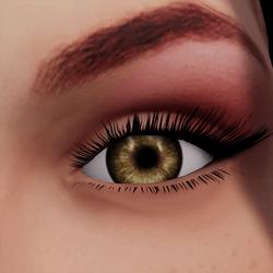 Angela Add-On Eyes - Hazel Brown