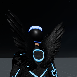 Wings Black Male