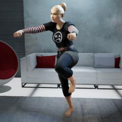 Running Man Dance (Female)