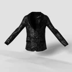 Men's Blazer Black