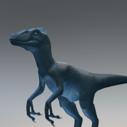 Blue Raptor Avatar