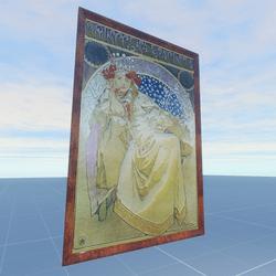 Princess Hyacinth 1911 Alphonse Mucha