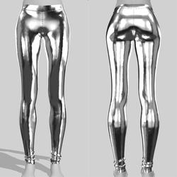 Leggings Maddy Silver