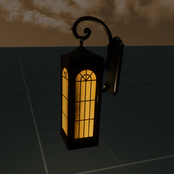 Mission Wall Lamp