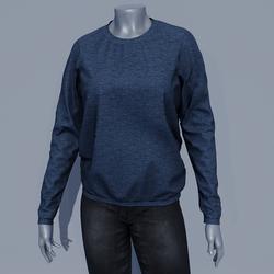 Women Sweater - Blueberry