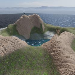 Taal Volcano Terrain