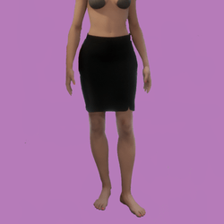 Aria skirt Black