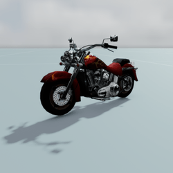 Toy Bike Harley