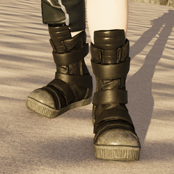 Female Grunge Moon Boot