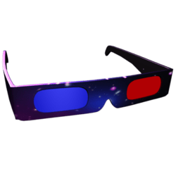 Female 3D Space Themed Shades