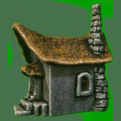 Little faery tale stone house