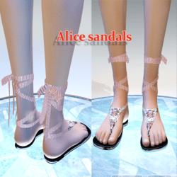 Alice sandals floral  print