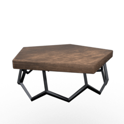 Geo Coffee Table Dark
