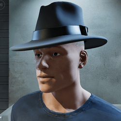 Stylish Fedora Hat (Male)